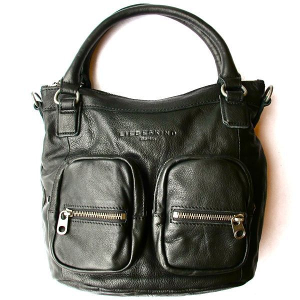 Liebeskind Gina H Bag in black leather