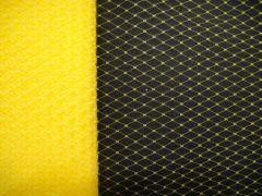 9 inch Plain Netting - Yellow