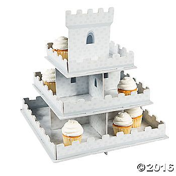 $8.99 - All hail the birthday treats! Crown your birthday party the best in all the land with this castle cupcake display. This unique cupcake holder lets you display ...