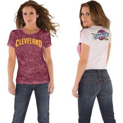 Touch by Alyssa Milano Cleveland Cavaliers Women's Super Fan T-Shirt