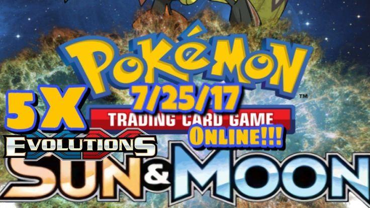 Pokemon TCG Online Pack Opening: 5x Booster Packs 7/25/17