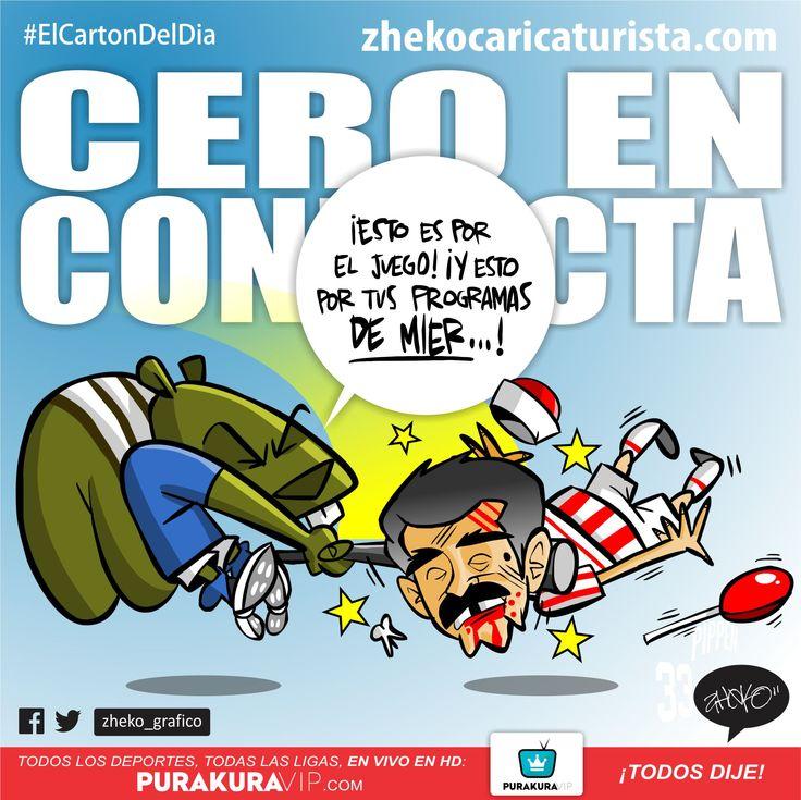 """""""CERO EN CONDUCTA"""" www.zhekocaricaturista.com El cartón del día, caricaturas deportivas, zheko caricaturista, zheko, zheko_grafico, haz tu caricatura, como hacer mi caricatura, caricaturas personalizadas, humor, funny, quiero mi caricatura, Liga Mx, Futbol Mexicano, Copa MX, Necaxa, Cruz Azul, Jorge Ortiz de Pinedo"""