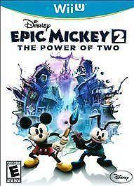NEW DISNEY EPIC MICKEY 2 THE POWER OF TWO NINTENDO WII U SEALED  #Nintendo