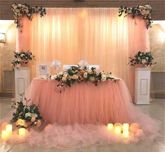 Свадьба цвета персикового нектара))) - Свадьбы - Сообщество декораторов текстилем и флористов