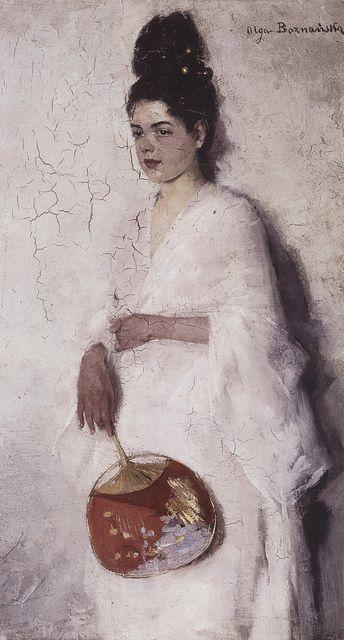 Olga Boznańska |Japonka