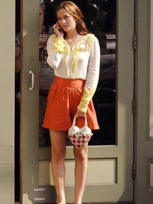 Blair Waldorf second series of Gossip Girl