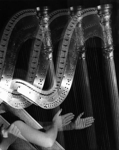 """""""Three Harps,"""" Imogen Cunningham, 1935"""