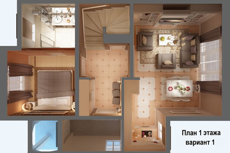 Планы и схемы жилого дома на две семьи - «Pelican club»