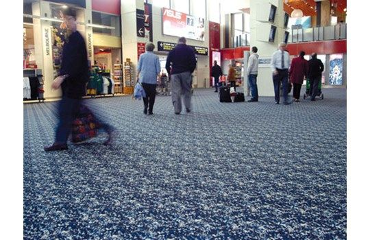 Tecsom ranges comprise a 100% recycled PVC Backing System, reinforced with glass fibre. The backing promotes improved acoustic performance, flexibility and tear resistance (manufacturer claim), and contributes to the fact that Tecsom carpet tiles initially are constructed of over 60% recycled materials.