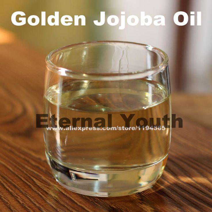100% de 100 mL de óleo de Jojoba australiano óleo grande valor de Simmondsia alishoppbrasil