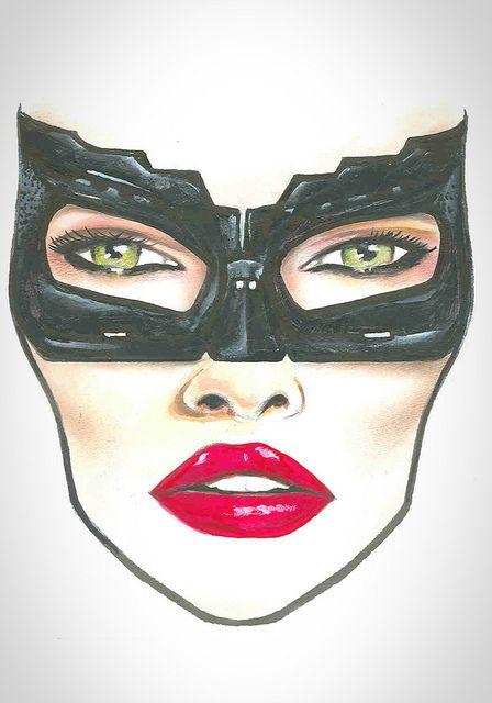 MAC Halloween Face Chart Catwoman | Flickr - Photo Sharing!