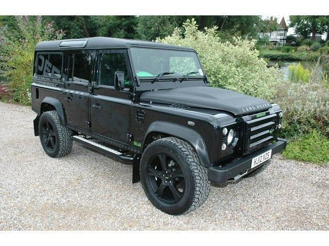 I always wanted on of these Land Rover Defender 110 from my days in Kenya