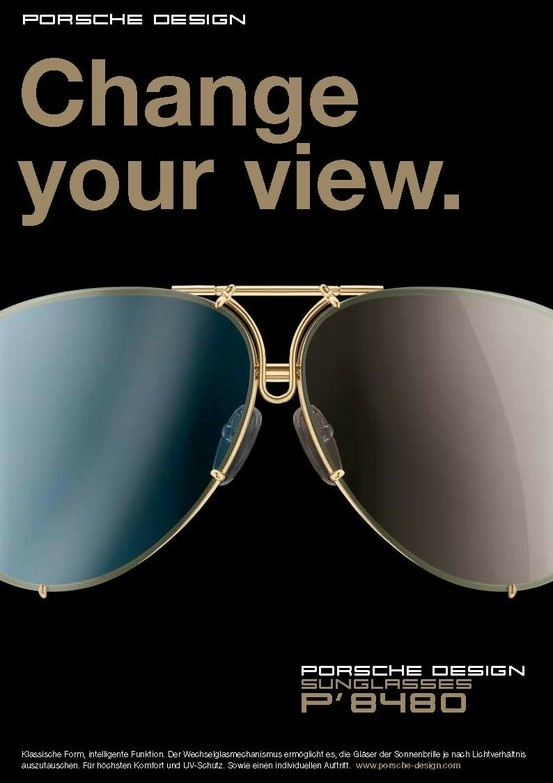 Porsche Design Eyewear Advertising Inspiration Pinterest