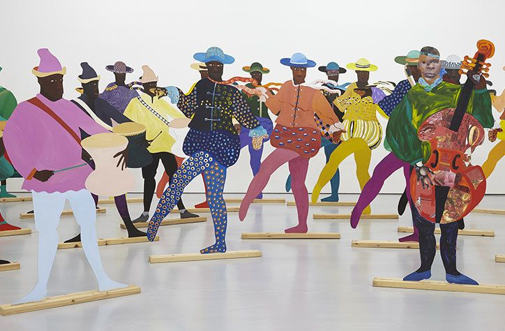 Lubaina Himid has been awarded the Turner Prize 2017, making her the oldest and the first woman of colour to ever win the renowned accolade. She would previously not have qualified for the award, as until this year the upper age limit for entry was 50. Lubaina was awarded the prize in a live broadcast on BBC Four by Goldie; she wins £25,000, while the other shortlisted artists –Hurvin Anderson, Andrea Büttner and Rosalind Nashashibi –win £5,000.