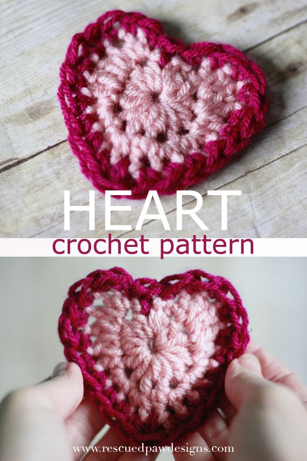 Valentine s Day Crochet Patterns : Valentines Day Heart Crochet Pattern Heart, The ojays ...