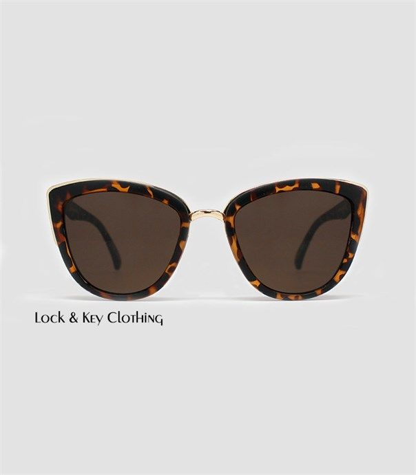 My Girl Sunglasses - Tortoise by Quay