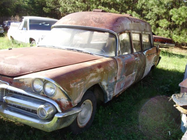 1959 Dodge Military Ambulance / Hearse for sale: photos, technical