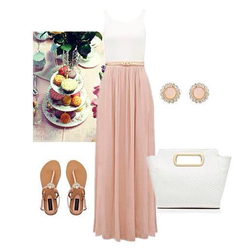 25+ best ideas about High tea outfit on Pinterest | Cupshe swimsuits high waist Modest teen ...