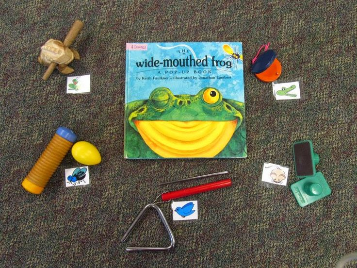 Music Room with a Mountain View: Lit Lesson: Wide Mouthed Frog