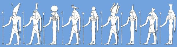 Niofaldigheten -Ennead | LundinOrient´s Egypten