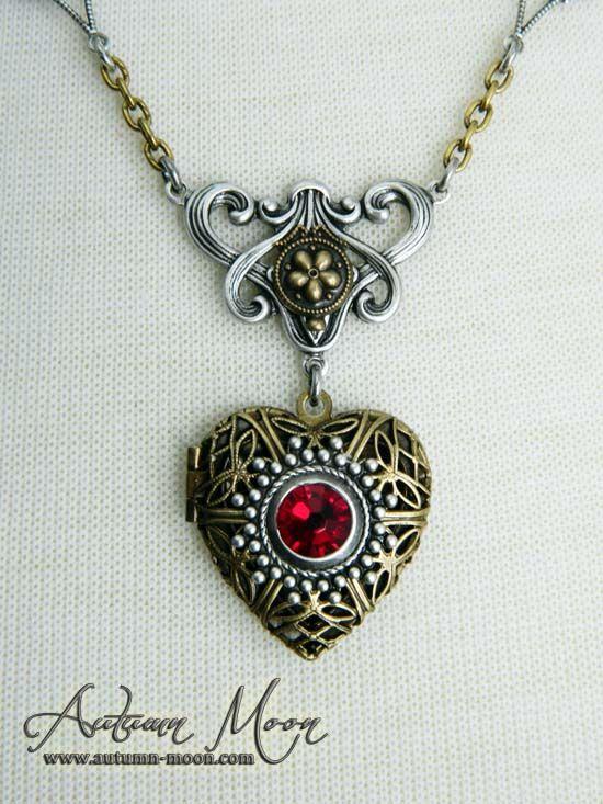Steampunk Valentine Locket