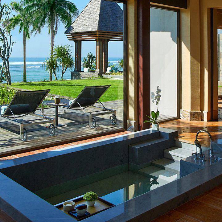 San Francisco Map Ritz Carlton%0A Bathtub Outdoor View  The RitzCarlton  Bali vossy com