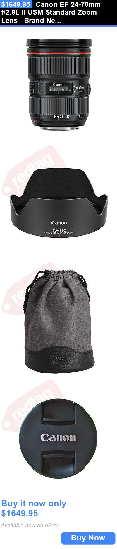 photo and video: Canon Ef 24-70Mm F/2.8L Ii Usm Standard Zoom Lens - Brand New BUY IT NOW ONLY: $1649.95