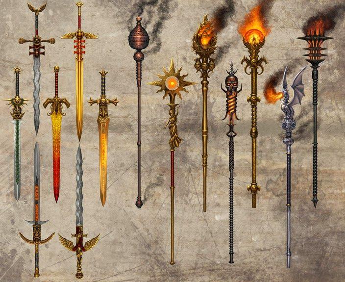 Armas mágicas