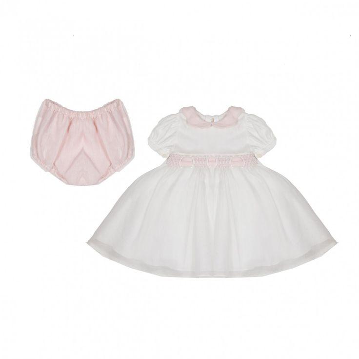 LA STUPENDERIA   Baby dress in silk and cotton   TheMiniBag