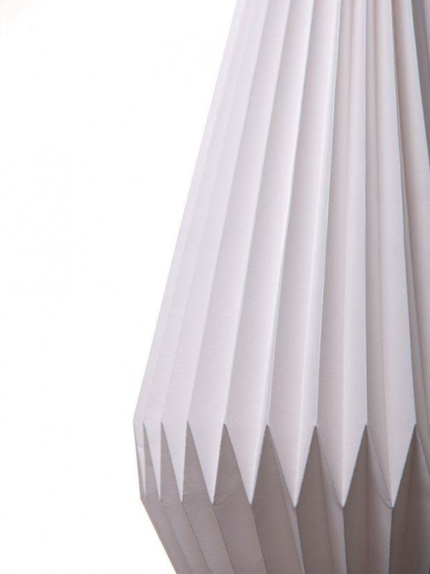 LampShade PLISÉ diamant By Lampshado paper lamps - Lampshado, on Designeros.com $75.00 #designeros