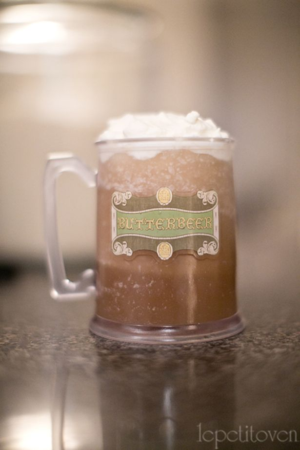 How to Make Slushy Butterbeer! I AM SO MAKING THIS!