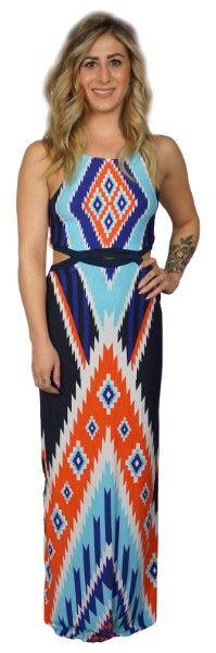 A WEEKEND IN ARIZONA DRESS $49  #apricotlanebismarck #newarrival #liketkit #womenstyle #womenfashion #fashion #musthave #style #maxi #aztec #maxidress #dress #vacationwear