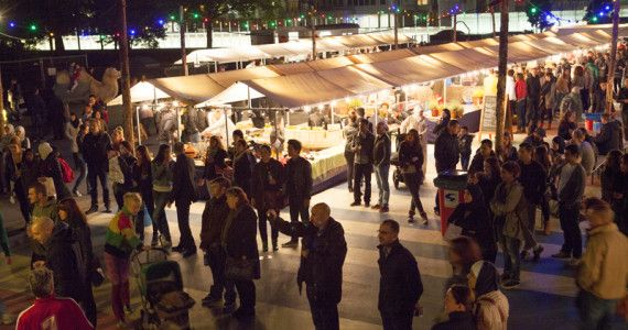 Djemaa el Fna tovert Museumpark om tot groot openluchtrestaurant - Rotterdam Festivals; 25, 26 & 27 september 2015