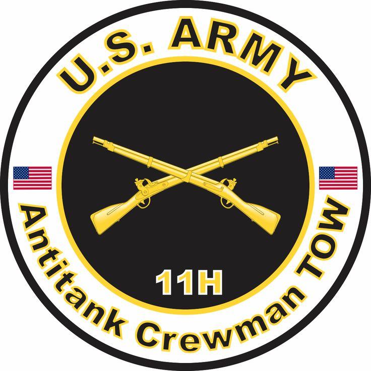 US Army MOS 11H Antitank Crewman TOW