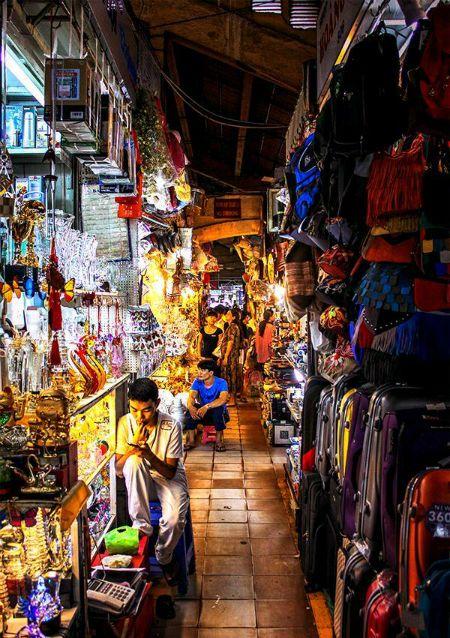 Ben Thanh market, Ho Chi Minh City, Vietnam...great shopping!