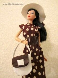 make your own Barbie doll clothes, free patterns and instructions!