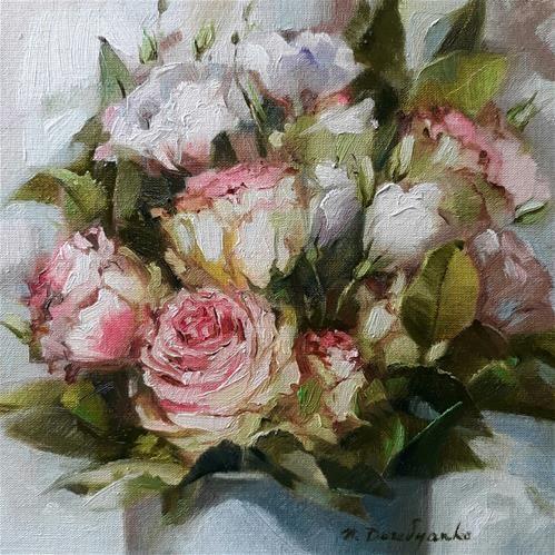 "Daily Paintworks - ""Tenderness"" - Original Fine Art for Sale - © Natali Derevyanko"