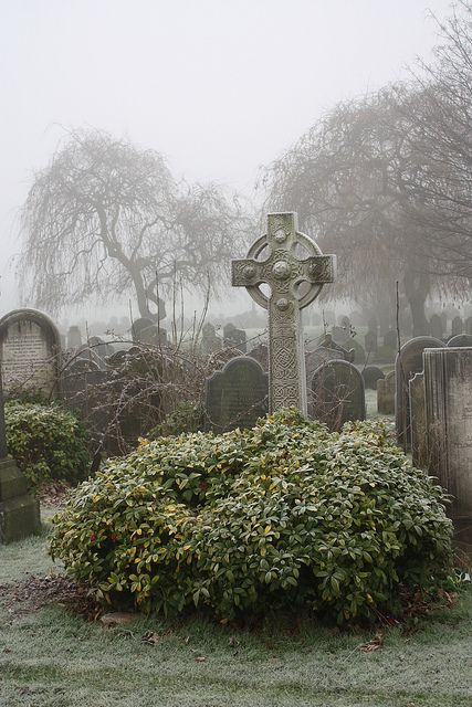 Celtic Cross - Toxteth Park Cemetery, Smithdown Road, Liverpool by Dark Dwarf