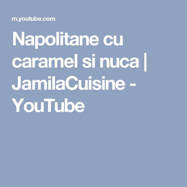 Napolitane cu caramel si nuca | JamilaCuisine - YouTube