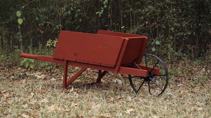 Making A Wheelbarrow