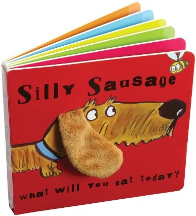Must get for g'babies!  Amazon.com: Book Silly Sausage Dog 6 by Jellycat // MUST GET FOR ME!!!!!! ♥♥♥♥♥