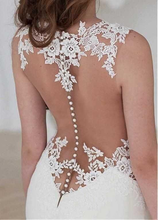 5 espaldas de ensueño para tu vestido de novia: ¿Cuál es la ganadora?
