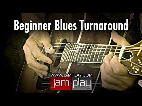 Blues Guitar Lesson - Easy Beginner Blues Turnaround - YouTube