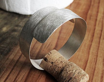 Chaos Bracelet A unique handmade sterling silver por AzureMexico