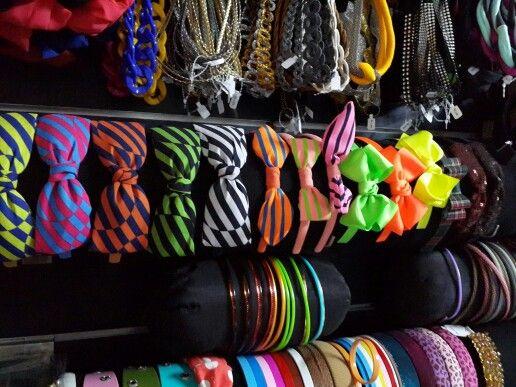 Headbands galore at Pins and Bows