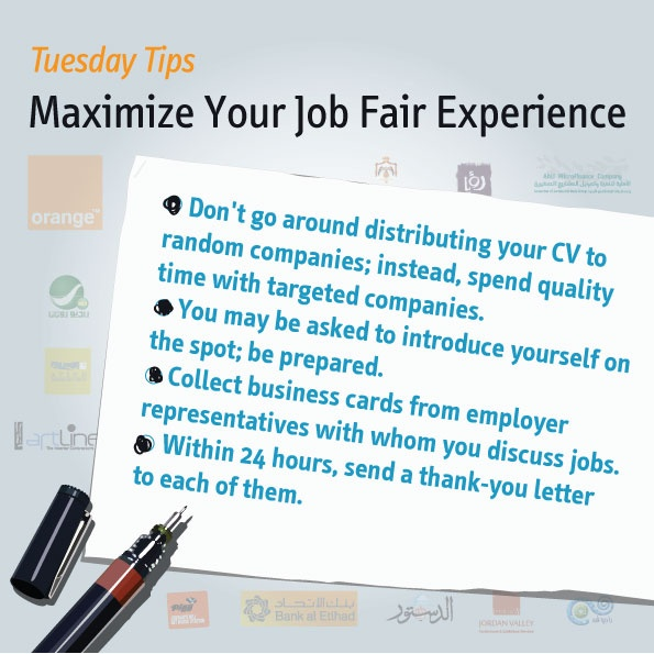 job career fairs expos have a lot of value when searching career