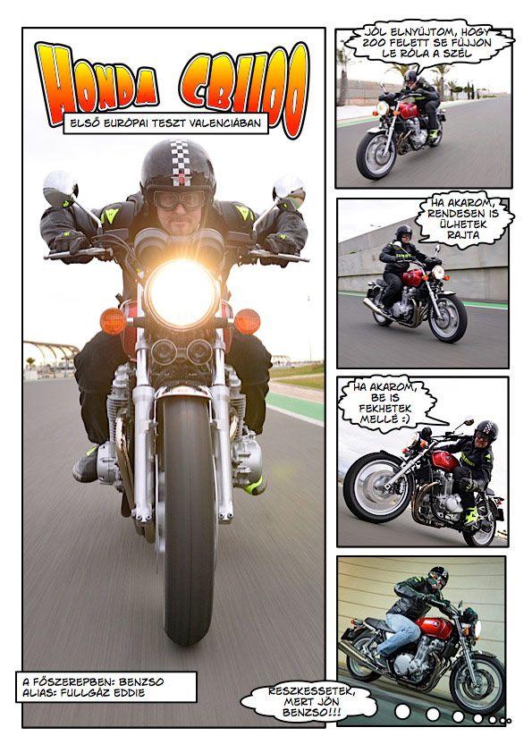 Honda CB1100 premier teszt Az Online Motoros magazin | Tesztmotor.hu