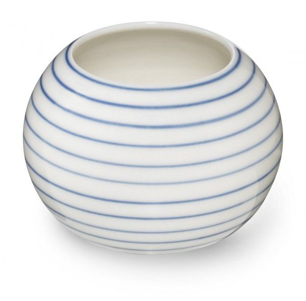 Stripes sugar bowl narrow blue line SR360B - Stripes sugar bowl narrow blue line - collections