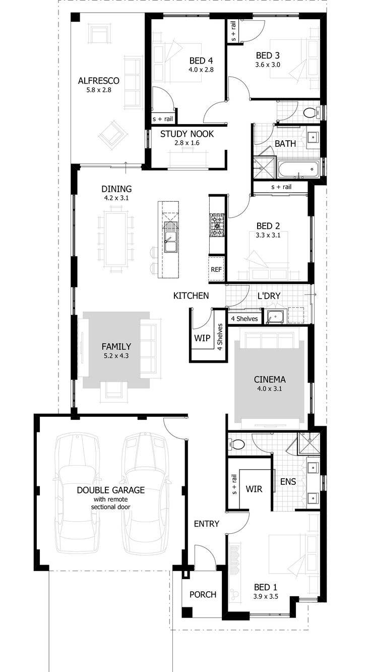 The Loren Is A Stunning Home That Combines Practicality And Comfort U2013 All  In A Neat. Tiny HomesHouse DesignFloor ...