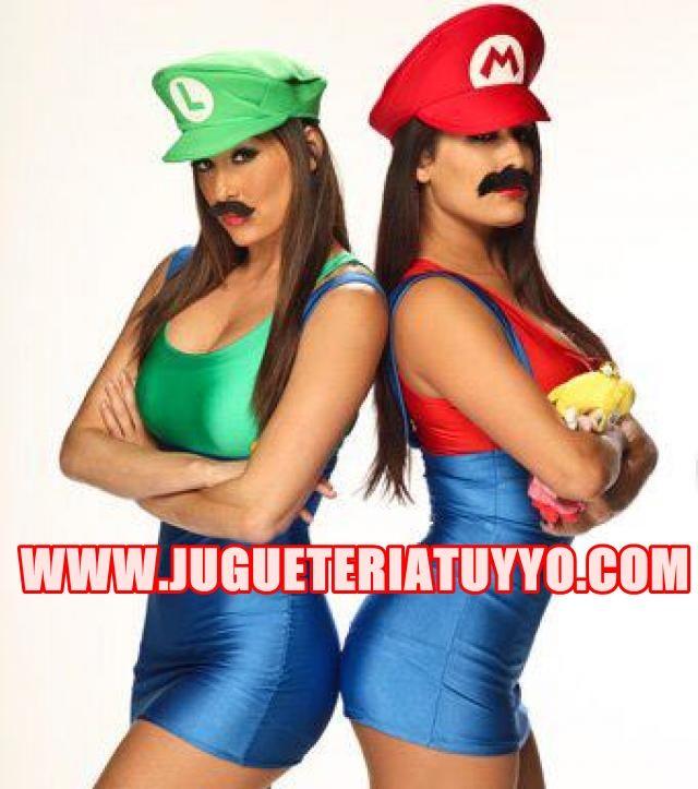 Disfraz de videojuego Mario